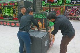 سوگواره چهارم-عکس 4-سید محمد حسین موسوی نژاد-جلسه هیأت فضای بیرونی