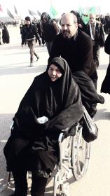 سوگواره دوم-عکس 10-رضا جودی-پیاده روی اربعین از نجف تا کربلا
