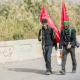سوگواره پنجم-عکس 8-عباس ترخان-پیاده روی اربعین از نجف تا کربلا
