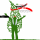 سوگواره سوم-پوستر 16-حسن منصوری حبیب ابادی-پوستر اطلاع رسانی هیأت