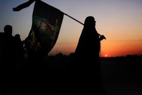 سوگواره سوم-عکس 34-محمد حسن صلواتی-پیاده روی اربعین از نجف تا کربلا
