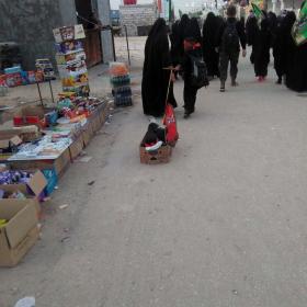 سوگواره پنجم-عکس 7-مهسا مقدم-پیاده روی اربعین از نجف تا کربلا