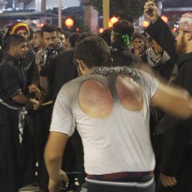 سوگواره سوم-عکس 10-محمد  آهنگر-پیاده روی اربعین از نجف تا کربلا