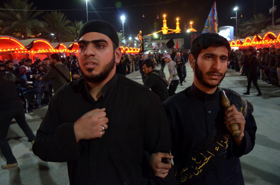 سوگواره دوم-عکس 24-محمدامین غفاری-پیاده روی اربعین از نجف تا کربلا
