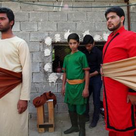 سوگواره سوم-عکس 135-حسین استوار -آیین های عزاداری
