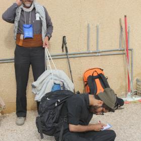 سوگواره چهارم-عکس 25-علی هاشمی-پیاده روی اربعین از نجف تا کربلا