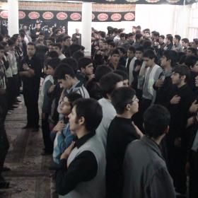 سوگواره دوم-عکس 71-سید لطفعلی رادخانه-جلسه هیأت فضای بیرونی