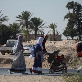 سوگواره پنجم-عکس 5-فاطمه عاقل زاده-پیاده روی اربعین از نجف تا کربلا