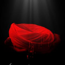نهمین سوگواره عاشورایی پوستر هیأت-علی صفریان-بخش اصلی -پوستر اعلان هیأت