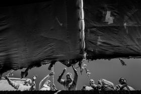 سوگواره سوم-عکس 1-سیدعلی حسینی فر-جلسه هیأت فضای بیرونی