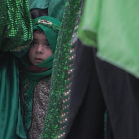 سوگواره پنجم-عکس 20-عباس مشهدی آقایی-پیاده روی اربعین از نجف تا کربلا