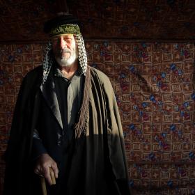 سوگواره سوم-عکس 105-حسین استوار -پیاده روی اربعین از نجف تا کربلا