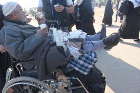 سوگواره سوم-عکس 11-سیده هاله حیدری-پیاده روی اربعین از نجف تا کربلا