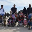 سوگواره پنجم-عکس 17-احسان ارباب پوری-پیاده روی اربعین از نجف تا کربلا