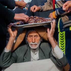 سوگواره پنجم-عکس 44-امیر عنایتی-پیاده روی اربعین از نجف تا کربلا