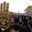 سوگواره سوم-عکس 27-علی مقنی-پیاده روی اربعین از نجف تا کربلا