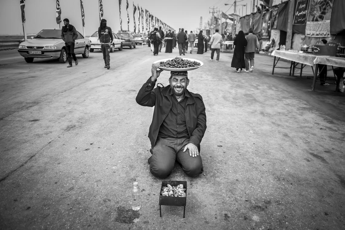 سوگواره چهارم-عکس 41-سید ولی  شجاعی لنگری-پیاده روی اربعین از نجف تا کربلا