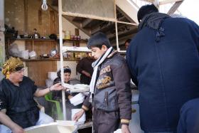 سوگواره دوم-عکس 37-محسن مرادی-پیاده روی اربعین از نجف تا کربلا