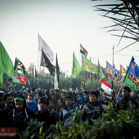 سوگواره سوم-عکس 50-امیر امیدنژاد-پیاده روی اربعین از نجف تا کربلا