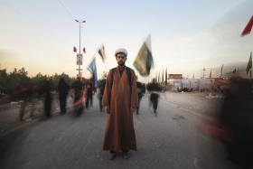 سوگواره پنجم-عکس 16-مسعود ماکاوند-پیاده روی اربعین از نجف تا کربلا