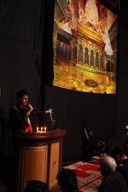 سوگواره چهارم-عکس 36-حسین دیواندری-جلسه هیأت فضای داخلی