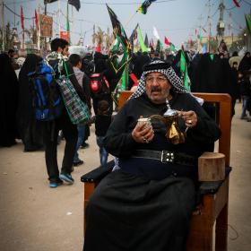 سوگواره چهارم-عکس 49-محمد رضا میثمی-پیاده روی اربعین از نجف تا کربلا