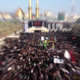 سوگواره چهارم-عکس 52-امير رضا فخري-پیاده روی اربعین از نجف تا کربلا