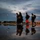 سوگواره چهارم-عکس 15-فرج الله رمضانی-پیاده روی اربعین از نجف تا کربلا
