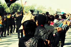 سوگواره دوم-عکس 2-حسین رضایی-جلسه هیأت فضای داخلی