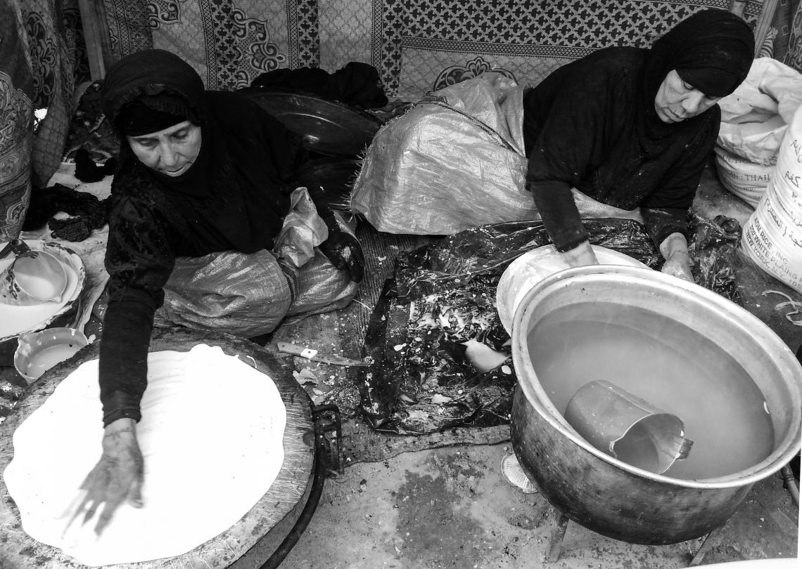 سوگواره چهارم-عکس 5-فاطمه جوادی-پیاده روی اربعین از نجف تا کربلا