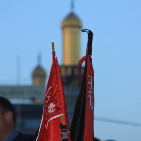 سوگواره سوم-عکس 18-احمد قارداش پور طرقی-پیاده روی اربعین از نجف تا کربلا