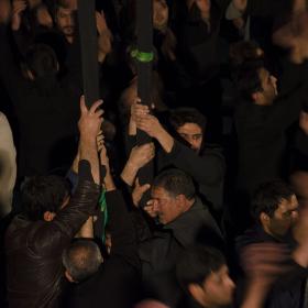 سوگواره چهارم-عکس 9-حسین رحیمی-آیین های عزاداری