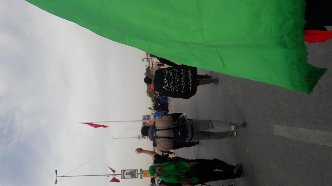 سوگواره پنجم-عکس 9-فاطمه حاج محمودی-پیاده روی اربعین از نجف تا کربلا