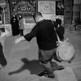 سوگواره سوم-عکس 34-حسین استوار -آیین های عزاداری