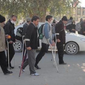 سوگواره دوم-عکس 16-کمیل هدایت فر-پیاده روی اربعین از نجف تا کربلا