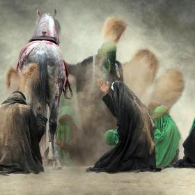 سوگواره چهارم-عکس 20-رضا رضائیان-آیین های عزاداری