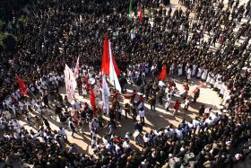 سوگواره چهارم-عکس 21-محمدرضا  خسروی چاهک -آیین های عزاداری