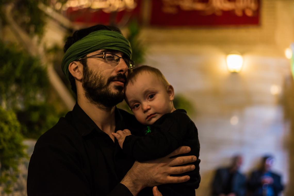 سوگواره پنجم-عکس 13-محمد حسین عیدی-جلسه هیأت
