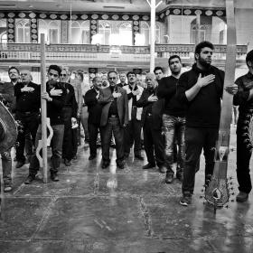 سوگواره چهارم-عکس 130-امیر حسین علیداقی-آیین های عزاداری