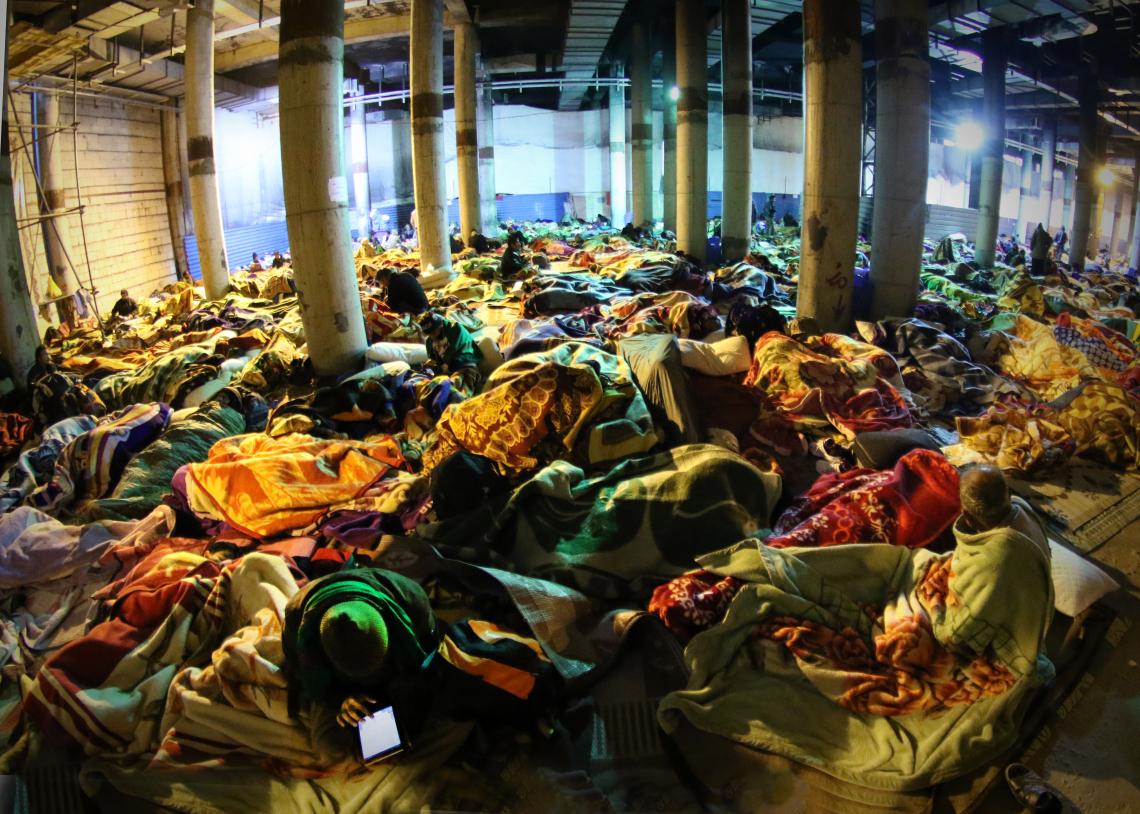 سوگواره پنجم-عکس 104-رسول مختاری-پیاده روی اربعین از نجف تا کربلا