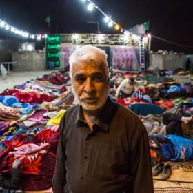 سوگواره چهارم-عکس 11-علی  حسن زاده-پیاده روی اربعین از نجف تا کربلا