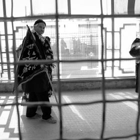 سوگواره سوم-عکس 56-حسین استوار -پیاده روی اربعین از نجف تا کربلا