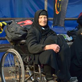 سوگواره چهارم-عکس 94-سید محمد جواد صدری-پیاده روی اربعین از نجف تا کربلا