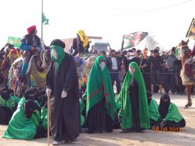 سوگواره سوم-عکس 14-علی مقنی-پیاده روی اربعین از نجف تا کربلا