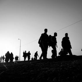 سوگواره سوم-عکس 116-حسین استوار -پیاده روی اربعین از نجف تا کربلا