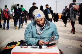 سوگواره سوم-عکس 33-محمد حسن صلواتی-پیاده روی اربعین از نجف تا کربلا