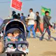 سوگواره چهارم-عکس 12-سید محمد جواد صدری-پیاده روی اربعین از نجف تا کربلا