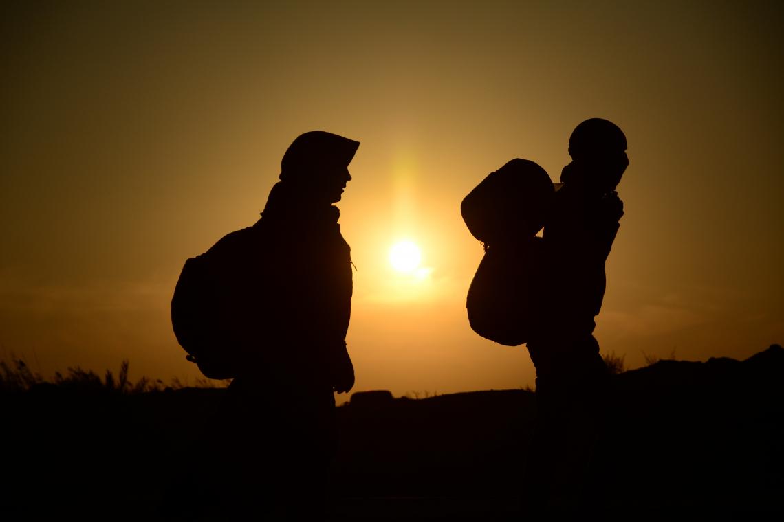 سوگواره سوم-عکس 13-حسین بهرام نژاد-پیاده روی اربعین از نجف تا کربلا