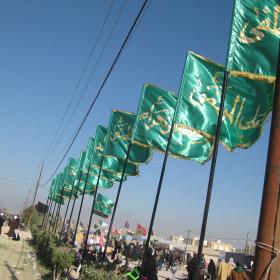 سوگواره دوم-عکس 48-محمد کشاورز-پیاده روی اربعین از نجف تا کربلا