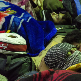 سوگواره سوم-عکس 67-محمدامین غفاری-پیاده روی اربعین از نجف تا کربلا